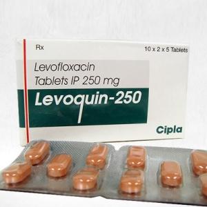 レボクイン(levoquin)250mgの個人輸入