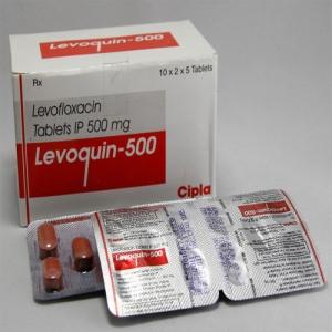 レボクイン(levoquin)500mgの個人輸入