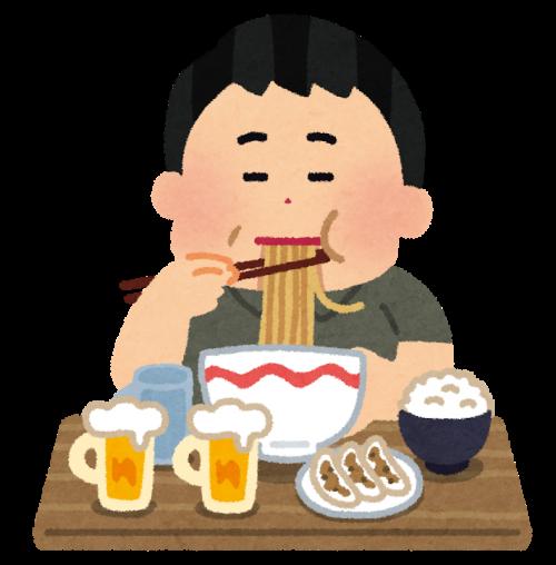 バリフを飲む前の食べ過ぎ・飲み過ぎには注意!