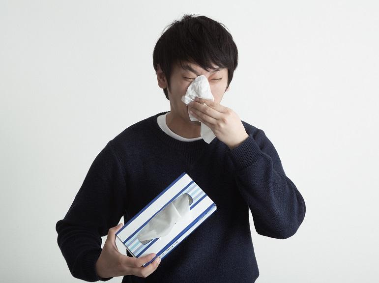 アレルギー性鼻炎と喘息