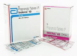 インデラル(INDERAL)10mg/40mgの個人輸入