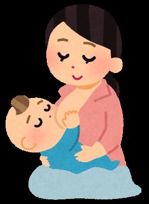 授乳中は女性ホルモンの影響で胸が大きくなる