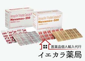 ノバモックス(NOVAMOX)の個人輸入
